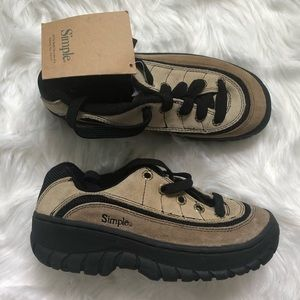 Simple nwt outdoor adventure sneakers M 5/ W 6.5